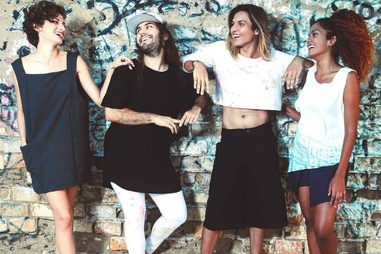 Marca Pangea moda sem gênero Instagram