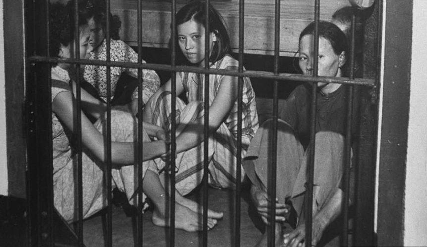mulheres prisão cela